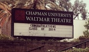 Waltmar Theatre - Chapman University