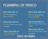 Plumbing Frisco TX