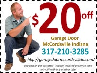 Garage Door McCordsville IN