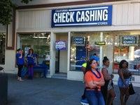 California Check Cashing Store