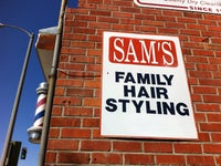 Sam's Hairstyling & Barbering