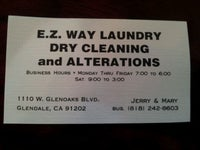E.Z. Way Laundry Dry Cleaning