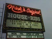 Nick's Original House of Ribs