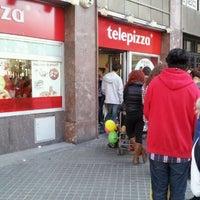 Foto tomada en Telepizza por Adrián V. el 2/29/2012