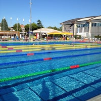 Photo taken at Stadio Del Nuoto by Marco V. on 8/11/2012