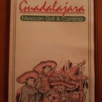 Photo taken at Guadalajara Mexican Grill & Cantina by Greg H. on 7/28/2012