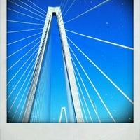 Photo taken at Arthur Ravenel Jr. Bridge by Whitney Q. on 4/20/2012