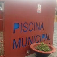 Photo taken at Piscina Municipal by Samuel G. on 3/26/2012