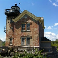 Photo taken at Saugerties Lighthouse by Christie on 7/22/2012
