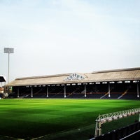 Photo taken at Craven Cottage by Fulham Football Club on 3/20/2012
