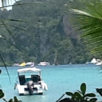Photo taken at Phi Phi Islands by Ei Ei N. on 5/23/2012