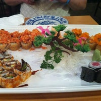 Photo taken at Matsu Sushi by Chloe K. on 5/2/2012
