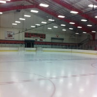 Photo taken at wayne ice arena by Ryan J. on 2/19/2012