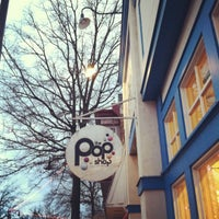 Photo taken at The Pop Shop, Cafe and Creamery by Marisa M. on 2/18/2012