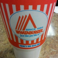 Photo taken at Whataburger by jayme a. on 6/3/2012