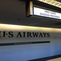 Photo taken at US Airways Ticket Counter by David G. on 8/9/2012