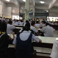 Photo taken at โรงอาหารพระมารดาฯ by Ploy K. on 7/31/2012