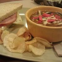 Photo taken at Panera Bread by Megan C. on 4/3/2012