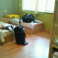 Photo taken at Hostel Mostel by Sq P. on 8/18/2012