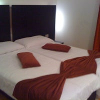 Photo taken at Excel Montemario Hotel by Ernesto D. on 5/29/2012
