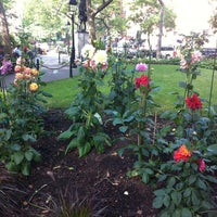 Photo taken at Abingdon Square Park by Rich C. on 6/10/2012