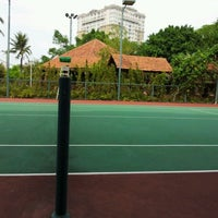 Photo taken at Văn Thánh Tennis Court by Joseph N. on 3/18/2012