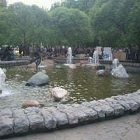 Photo taken at Abay Kunanbayev Monument by Lena Z. on 5/14/2012