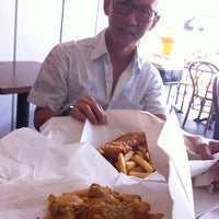 Photo taken at Smiths Authentic British Fish And Chips by Tony Q. on 6/17/2012