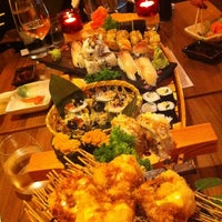 Photo taken at Yami Sushi House by Jirka P. on 7/13/2012