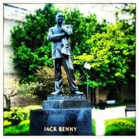 Photo taken at Jack Benny Plaza by Ilovetapatio on 5/12/2012