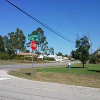 Photo taken at Bus stop by Joe P. on 3/26/2012