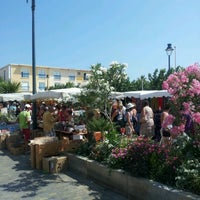 Photo taken at Marché du Barcares by jerome d. on 7/20/2012