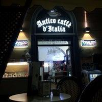 Photo taken at Antico Caffè D'Italia by scalcio on 8/18/2012