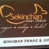 Photo taken at Restoran Sekinchan Ikan Bakar by misty on 3/26/2012