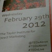 Photo taken at The Taylor Institute for Direct Marketing by Tanya R. on 2/29/2012