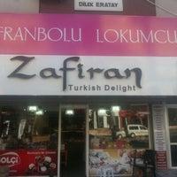 Photo taken at Zafiran Meşhur Safranbolu Lokumcusu by .Serkan Ç. on 8/29/2012