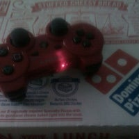 Photo taken at Domino's Pizza by Gustavo M. on 3/8/2012