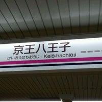 Photo taken at Keiō-hachiōji Station (KO34) by Nelson W. on 4/26/2012