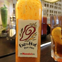 Photo taken at Nando's by Haffizie H. on 2/23/2012