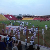 Photo taken at Estádio Mun. Pref. José Liberatti by Thiago on 6/17/2012