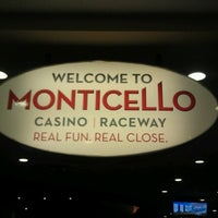 Photo taken at Monticello Casino & Raceway by Hobie A. on 7/13/2012