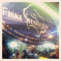 Photo taken at Fiske Steakhouse by sahril s. on 5/6/2012