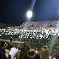Photo taken at Bob Waters Field at E.J. Whitmire Stadium by Becca on 9/12/2012