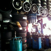 Photo taken at SKM Tyres & Services by song k. on 7/18/2012