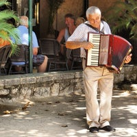 Photo taken at Restaurant La Terrasse by Chris T. on 8/29/2012