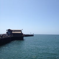 Photo taken at Stearns Wharf by Shaw on 5/18/2012