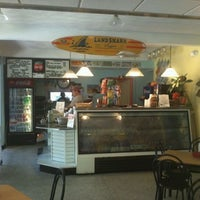 Photo taken at Beach Bum Bagel Cafe by Mark T. on 4/7/2012