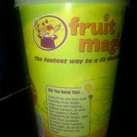 Photo taken at Fruit Magic by Jerepee J. on 3/19/2012