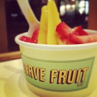 Photo taken at Chloe's Soft Serve Fruit Co. by lanamaniac on 3/9/2012