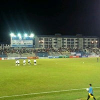 Photo taken at Stadium Sultan Ismail Nasiruddin Shah by Pena K. on 4/6/2012